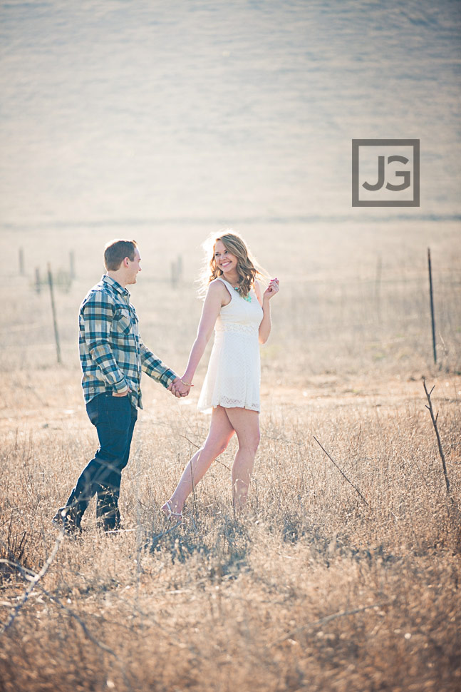 Engagement Photography Irvine Field