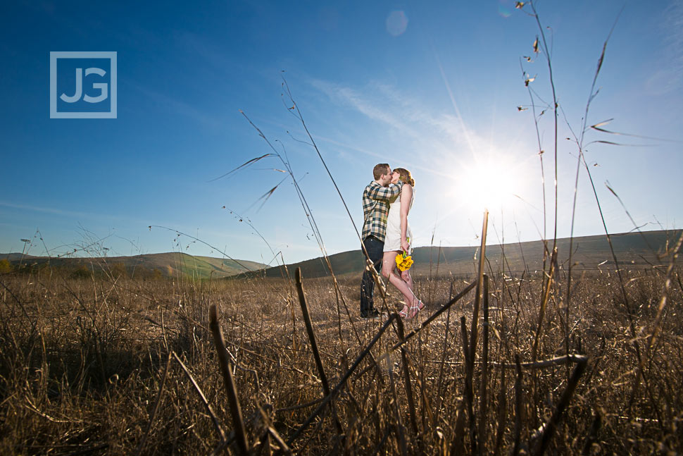 Irvine Field Engagement Photography