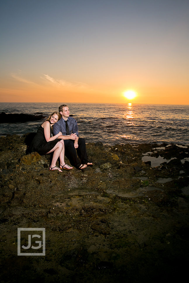 Victoria Beach Engagement Photography Sunset