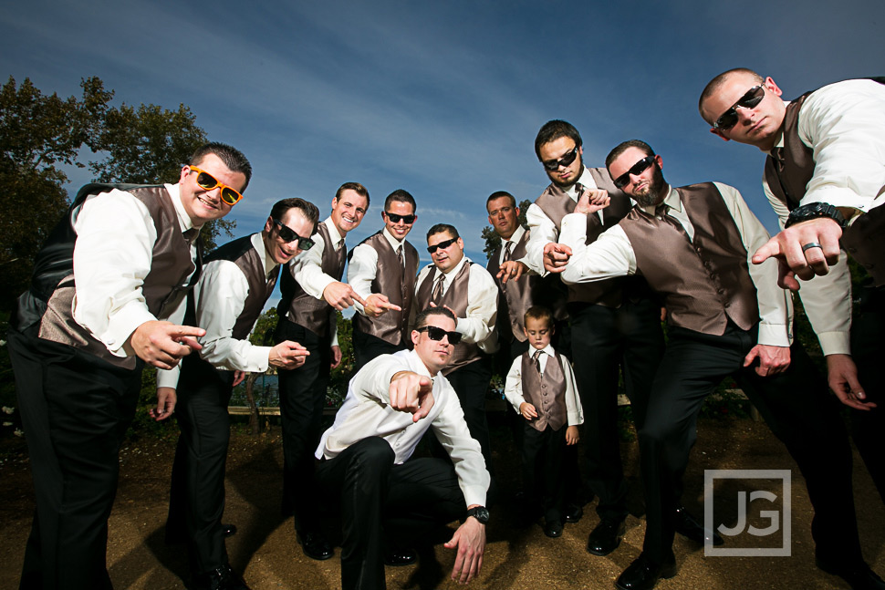 Lake Oak Meadows Temecula Groomsmen Photos
