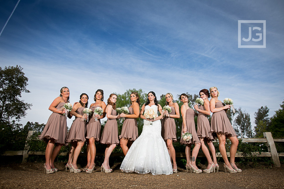 Lake Oak Meadows Temecula Bridesmaids Photos
