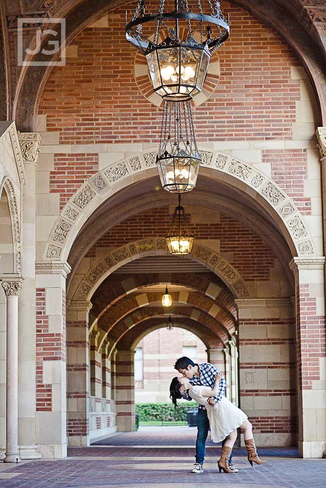 UCLA Engagement Photography Royce Hall