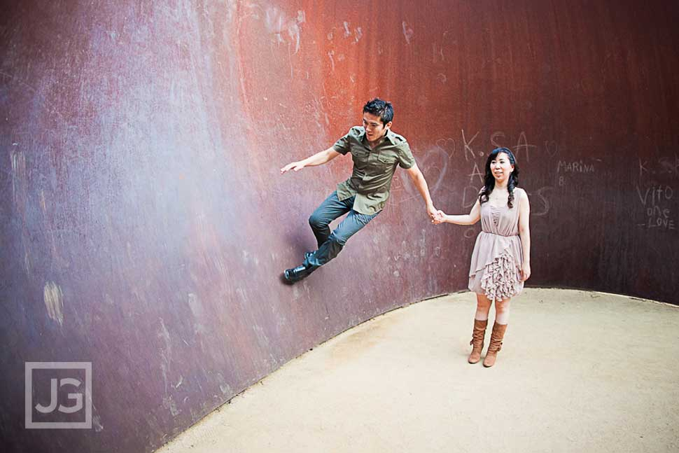 UCLA Engagement Photography