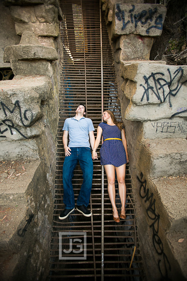 Griffith Park Engagement Photography Old LA Zoo