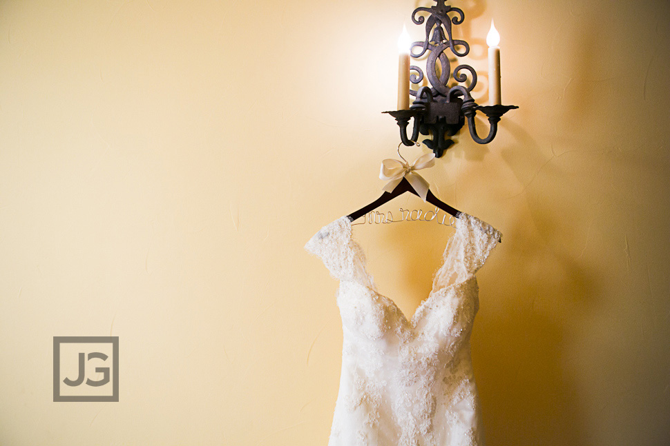 Hotel Los Gatos Wedding Preparation Wedding Dress