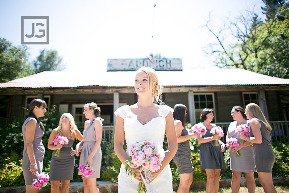 Radonich Ranch Wedding Party Photography