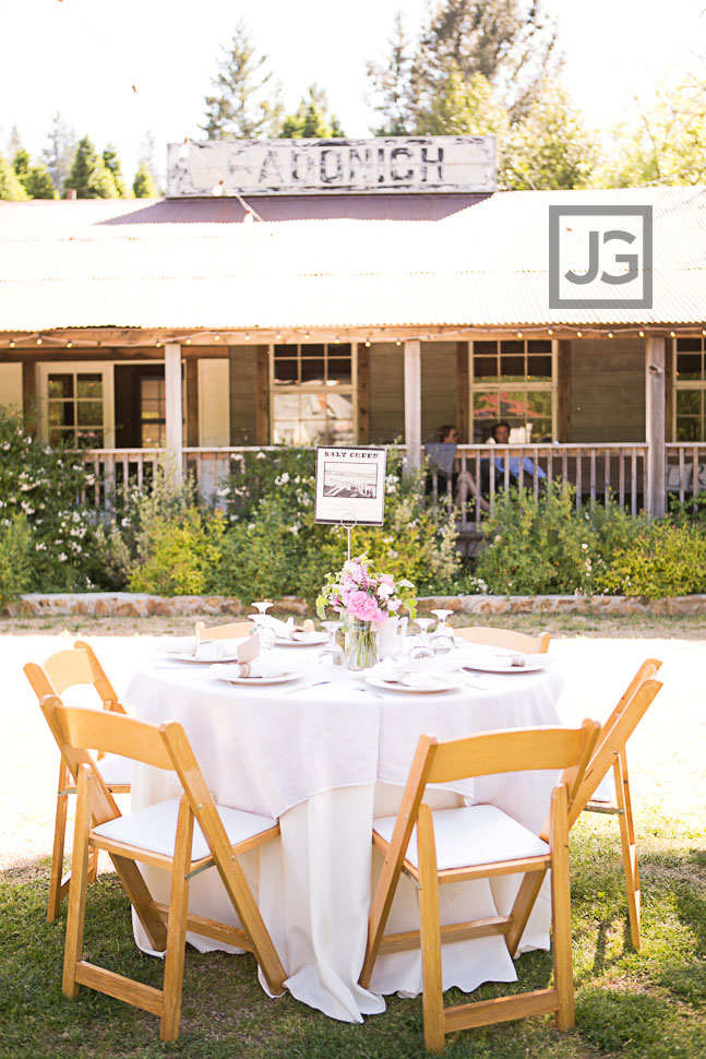Radonich Ranch Wedding Reception