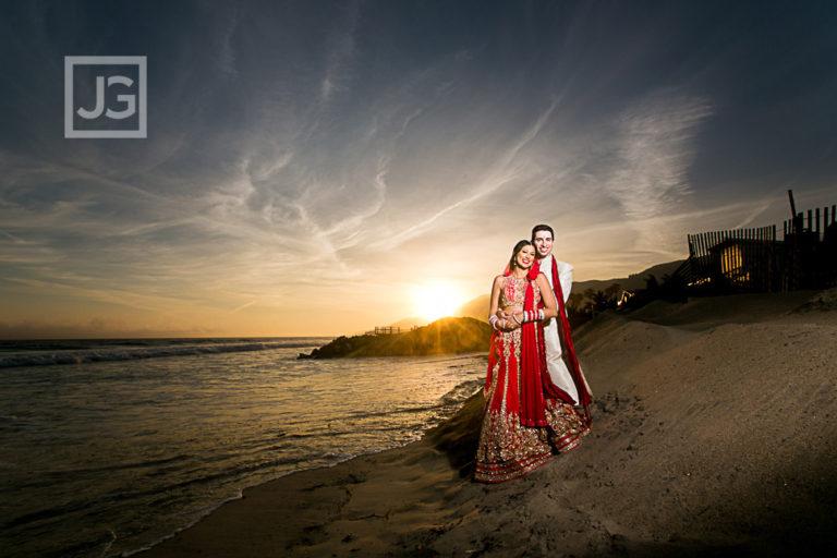 Malibu West Beach Club Wedding Photography | Anita + Matt