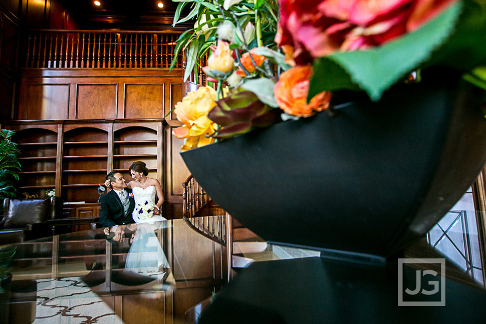 Wedding Photography in the Mansion Library
