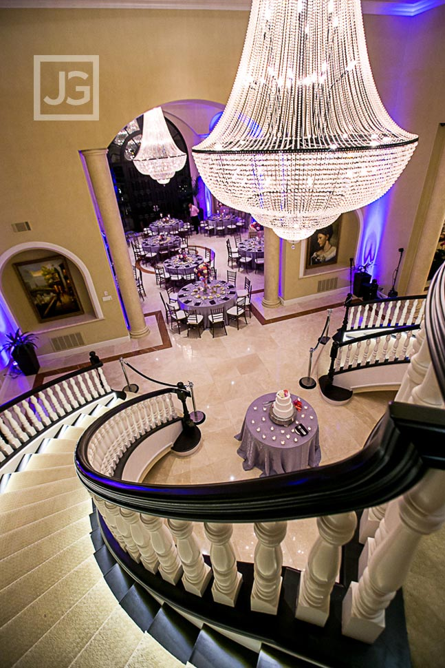 Private Mansion Wedding Reception Details