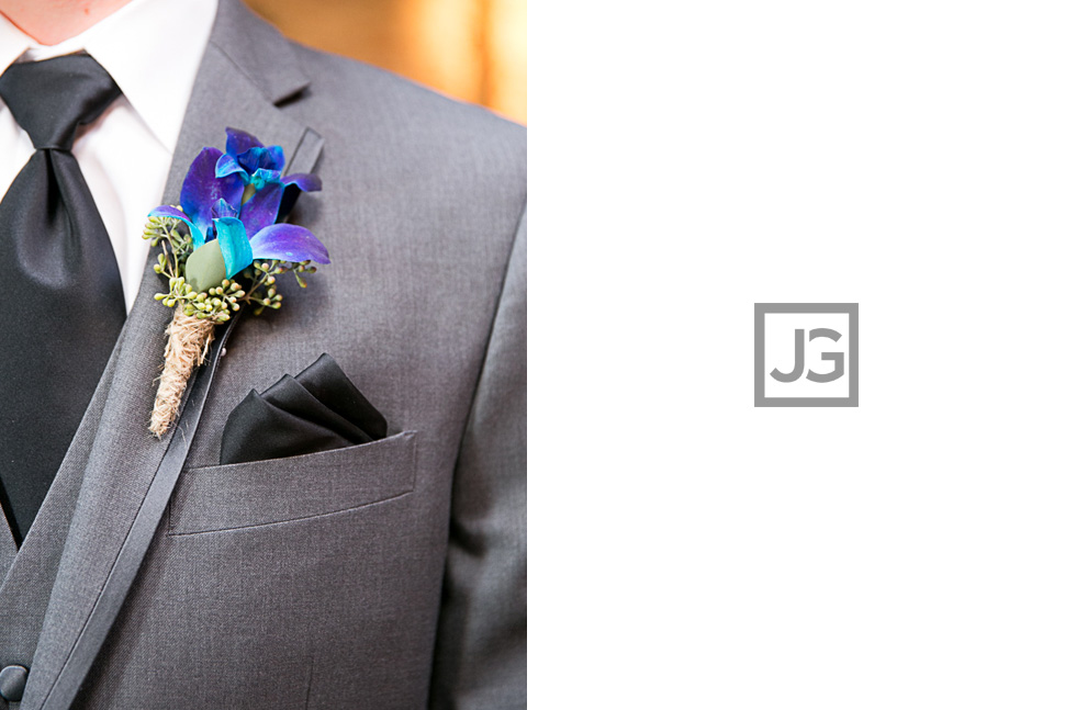 wedding corsage for groom