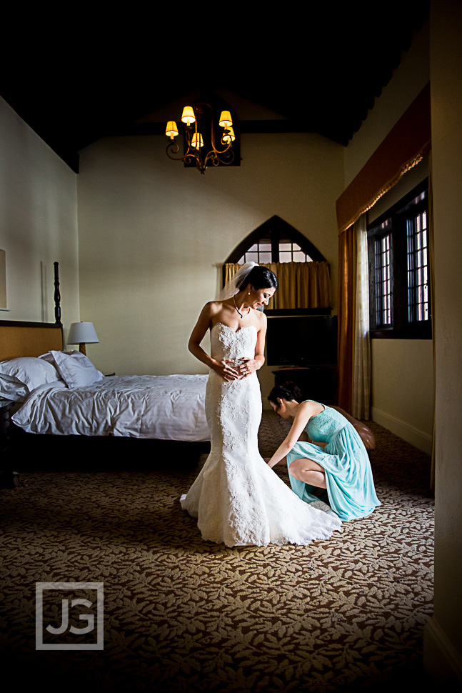 Wedding photography at the Mission Inn