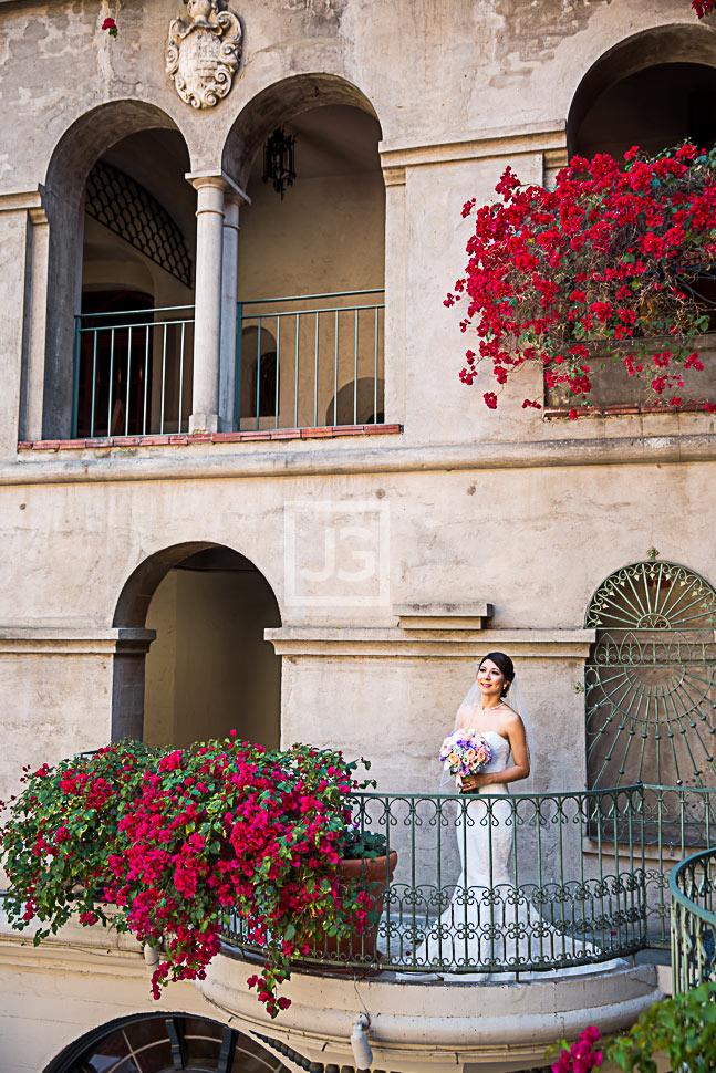 Wedding Bride at Mission Inn