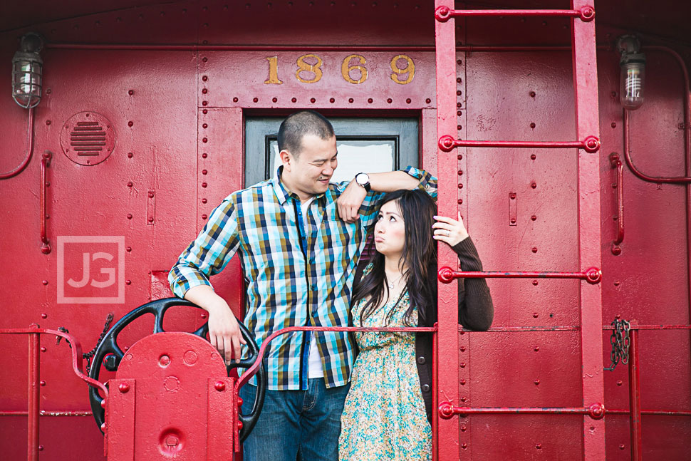 Los Rios Historic District Engagement Photos