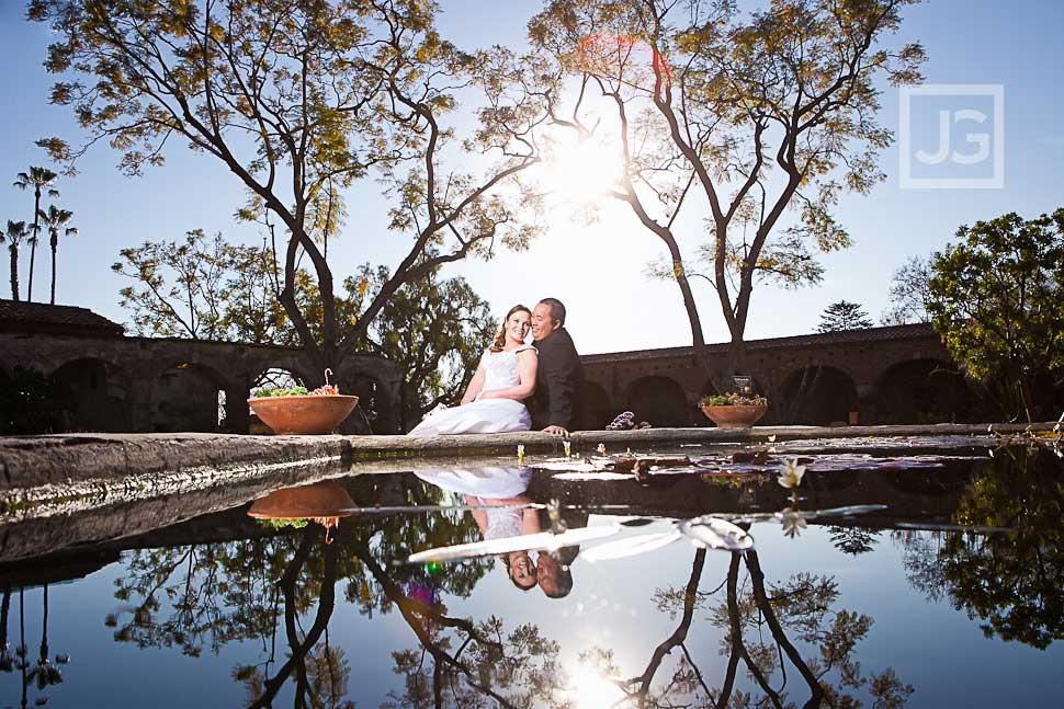Mission San Juan Capistrano Wedding Photography