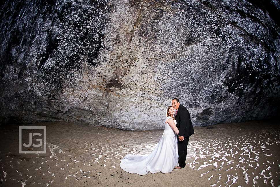 Laguna Beach Wedding Photos Cliff