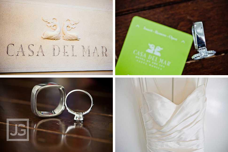 Casa Del Mar Wedding Preparation