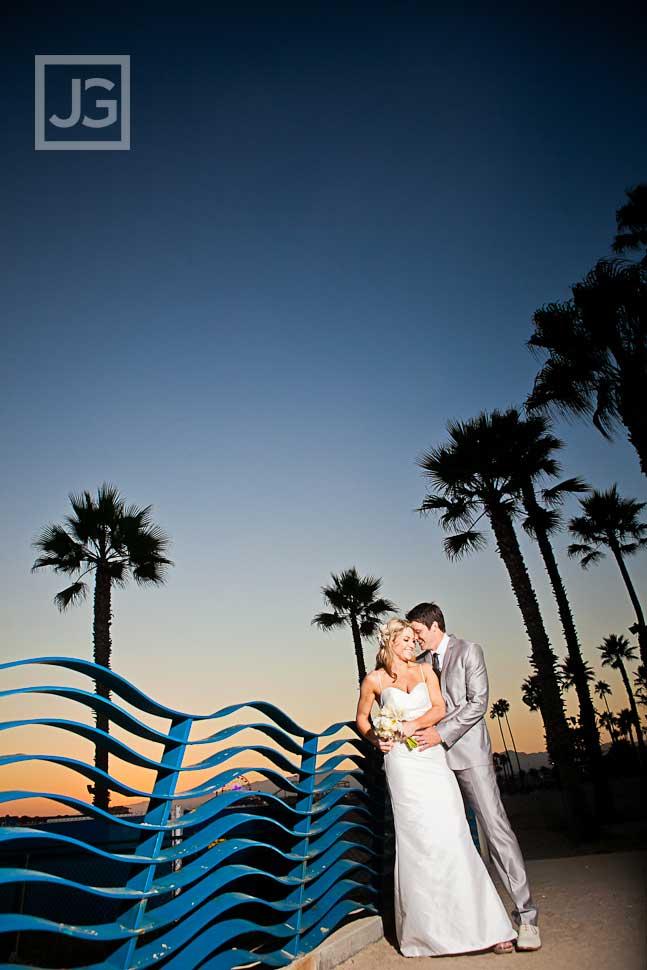 Santa Monica Beach Wedding Photos