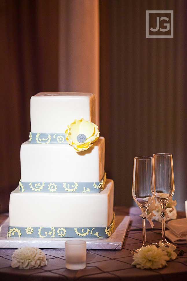 Casa del Mar Wedding Reception Wedding Cake