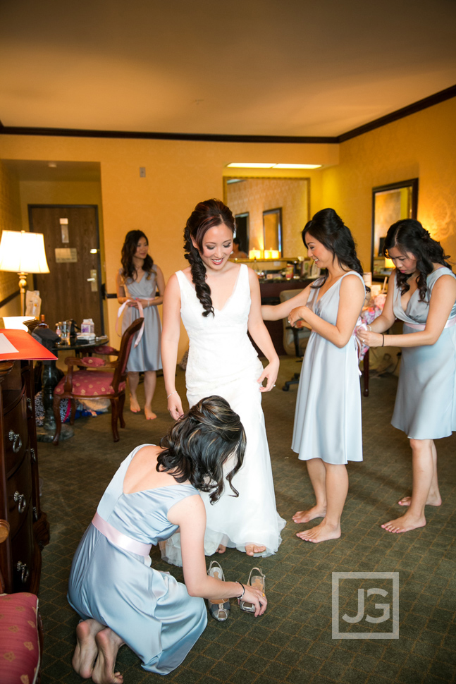 Ayres Hotel Yorba Linda Wedding Preparation