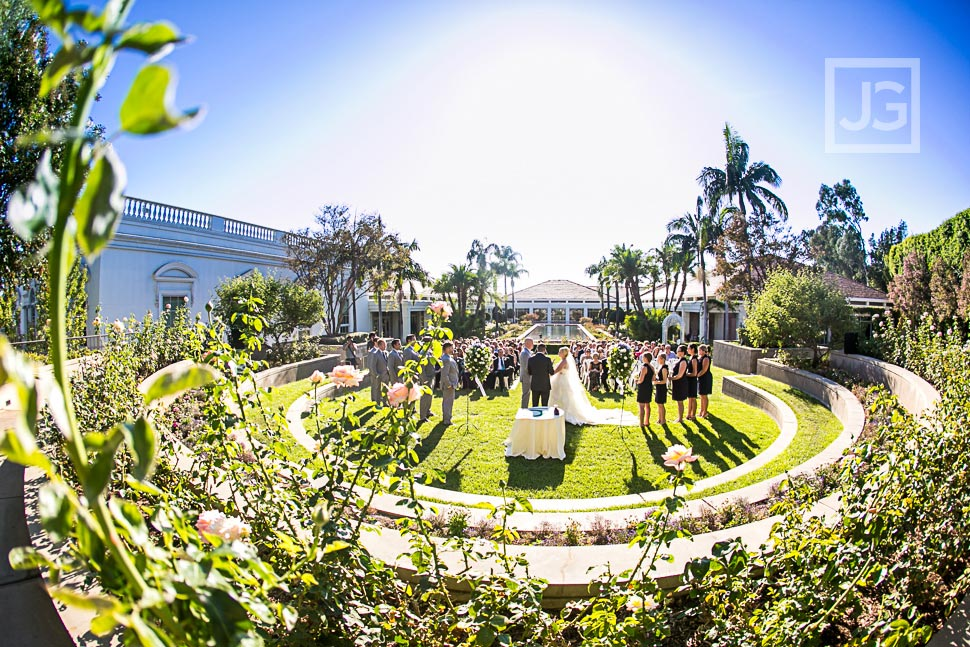 Nixon Library Wedding Ceremony