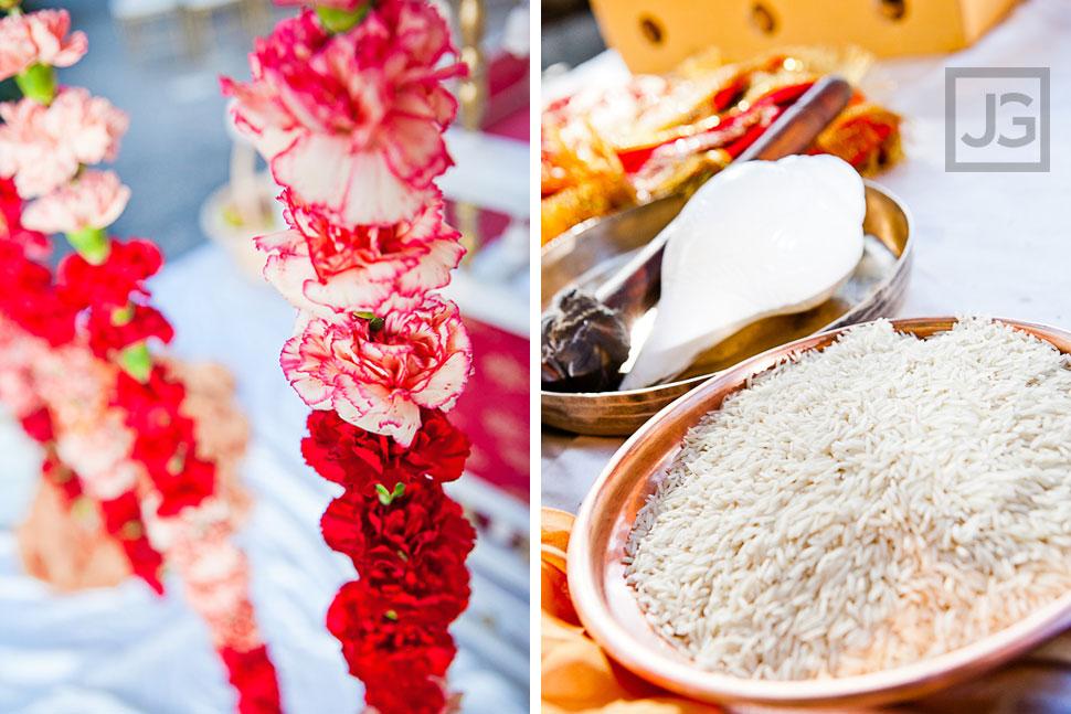 Indian Wedding Ceremony LA River Center Details