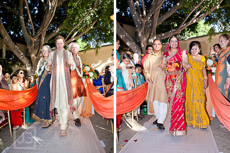 Indian Wedding Ceremony LA River Center