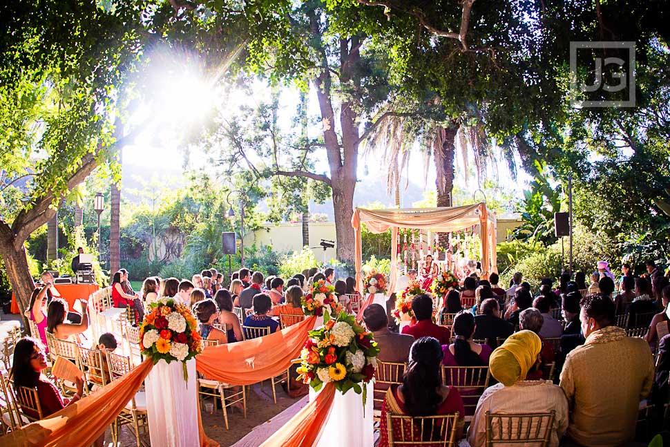 Wedding Ceremony LA River Center
