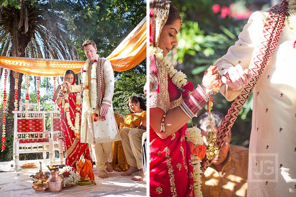 Indian Wedding Ceremony LA River Center