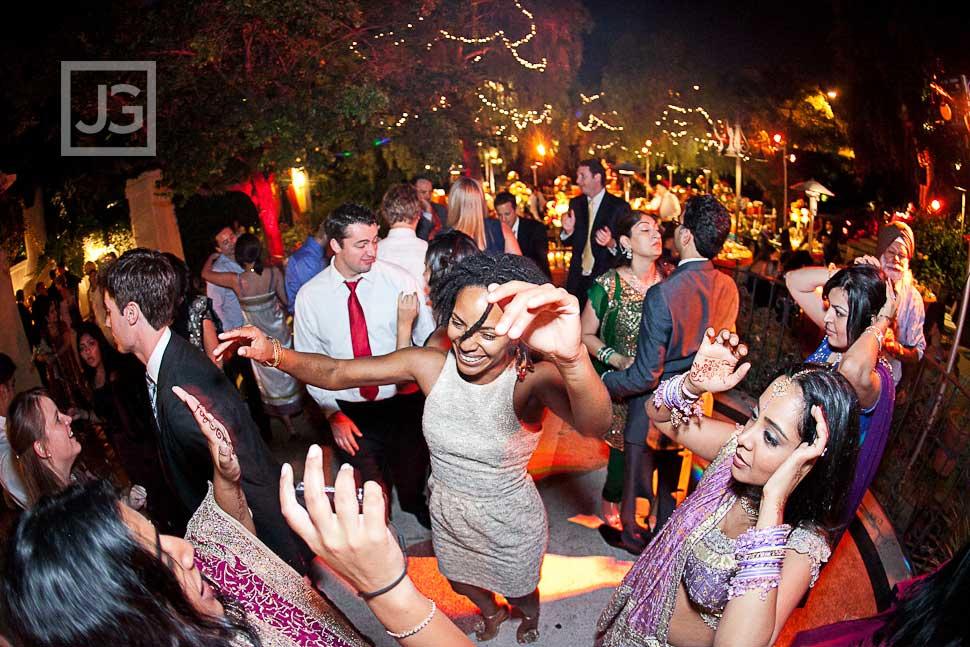 Open Dancing Wedding Reception LA River Center