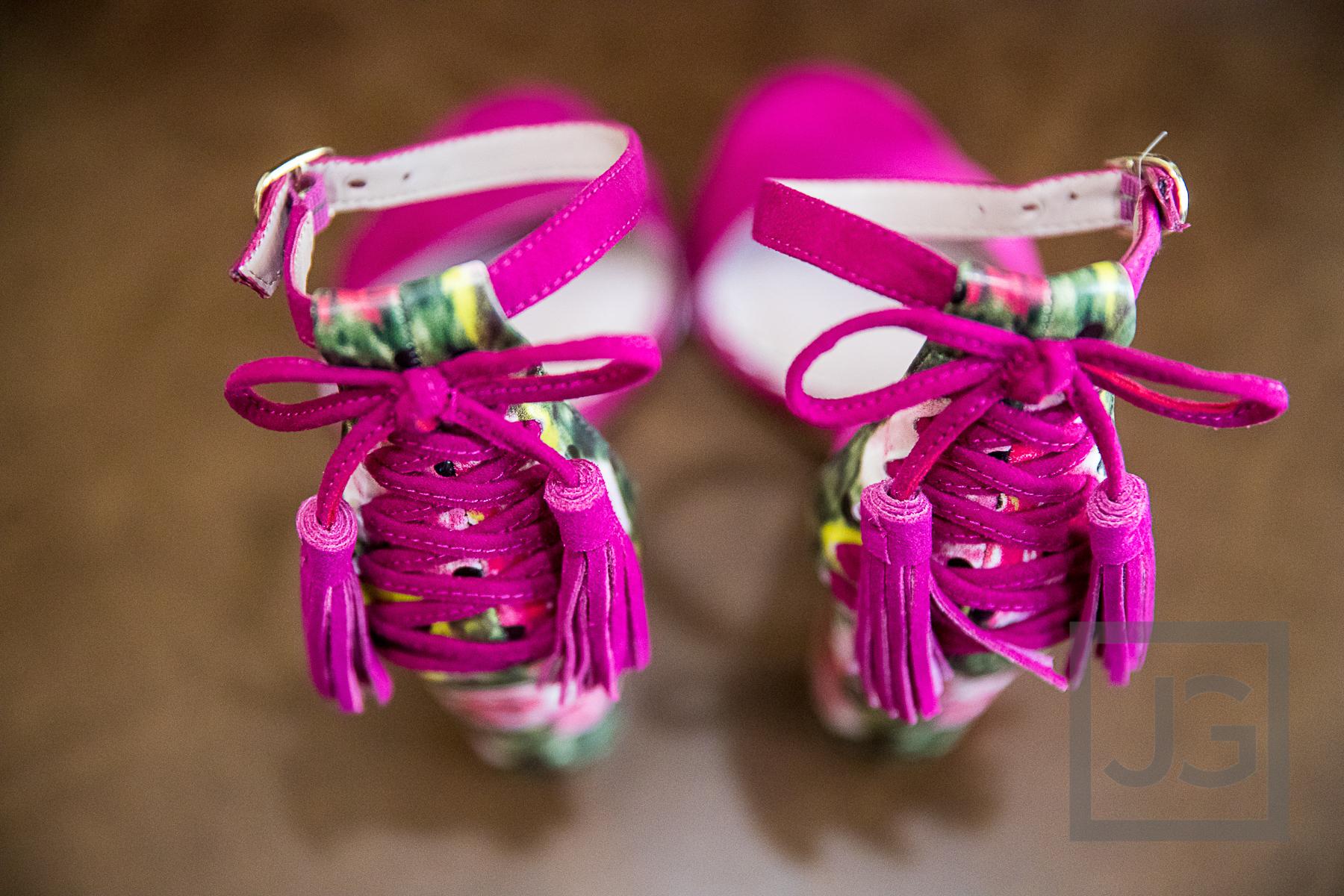 Oak Canyon Ranch Wedding Preparation Shoes