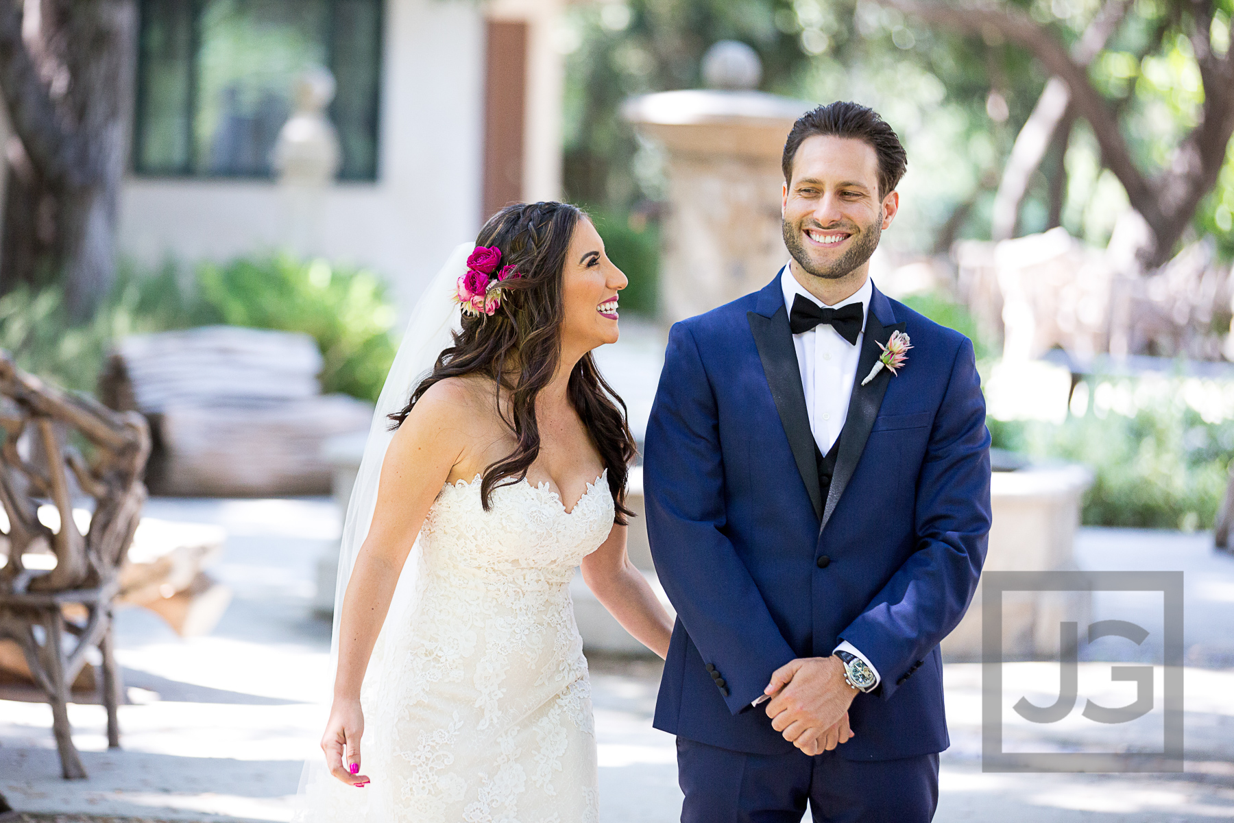 Oak Canyon Ranch Wedding First Look