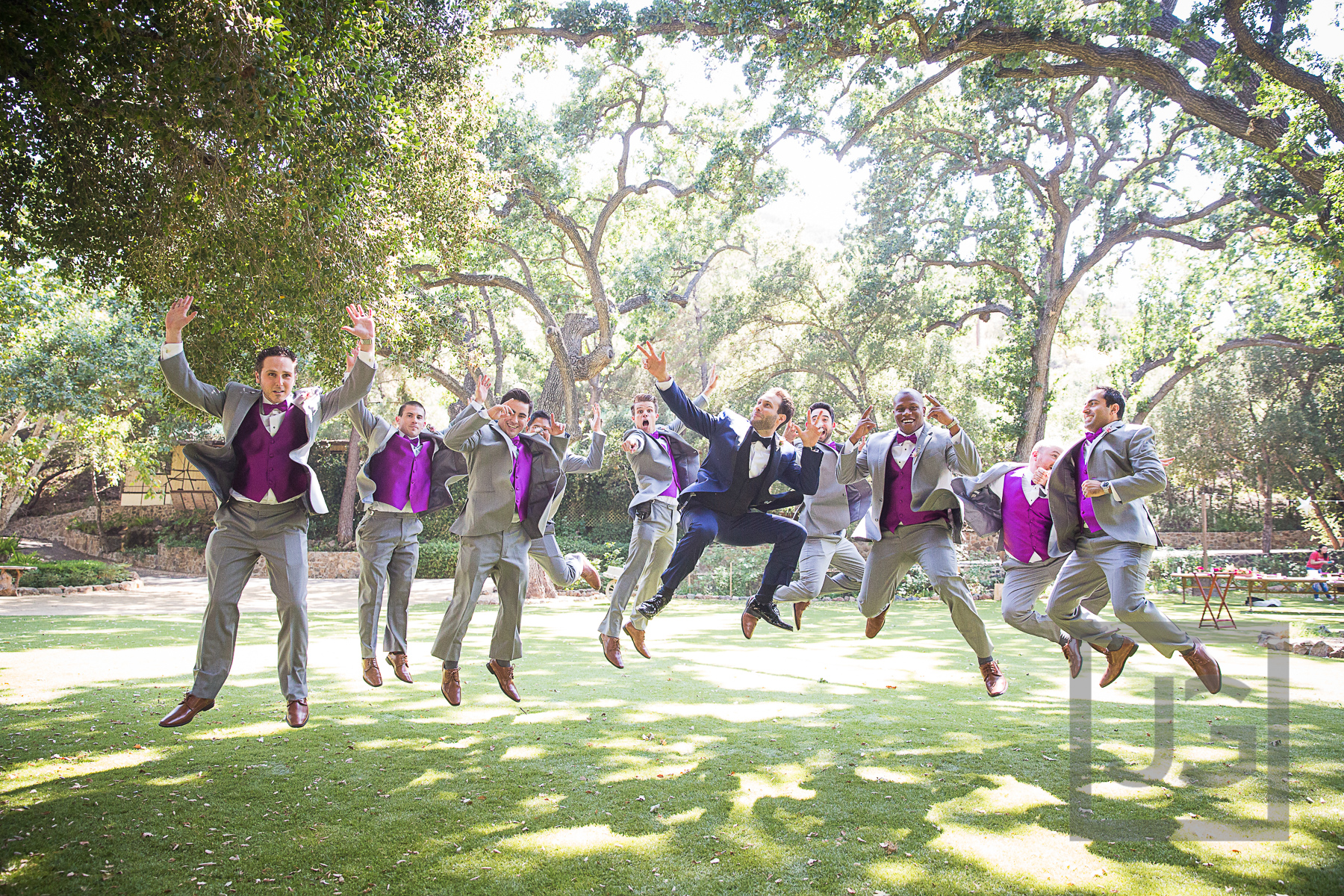 Oak Canyon Ranch Groomsmen Photography