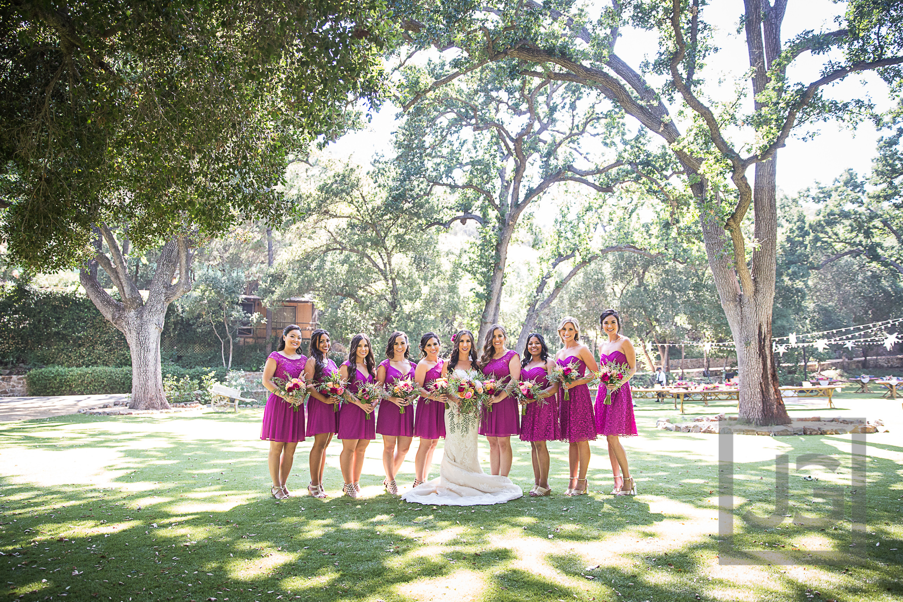 Oak Canyon Ranch Bridesmaids Photography
