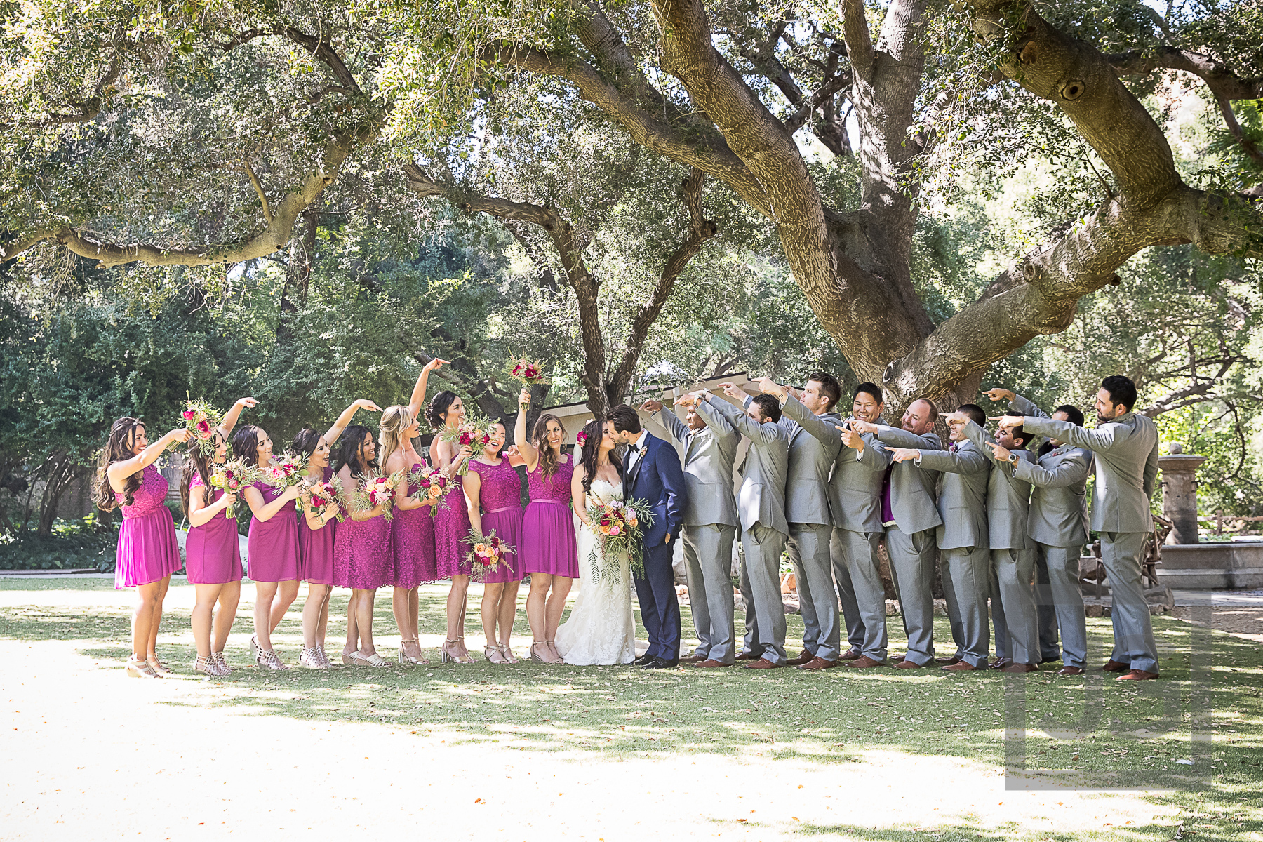 Oak Canyon Ranch Bridal Party Photography