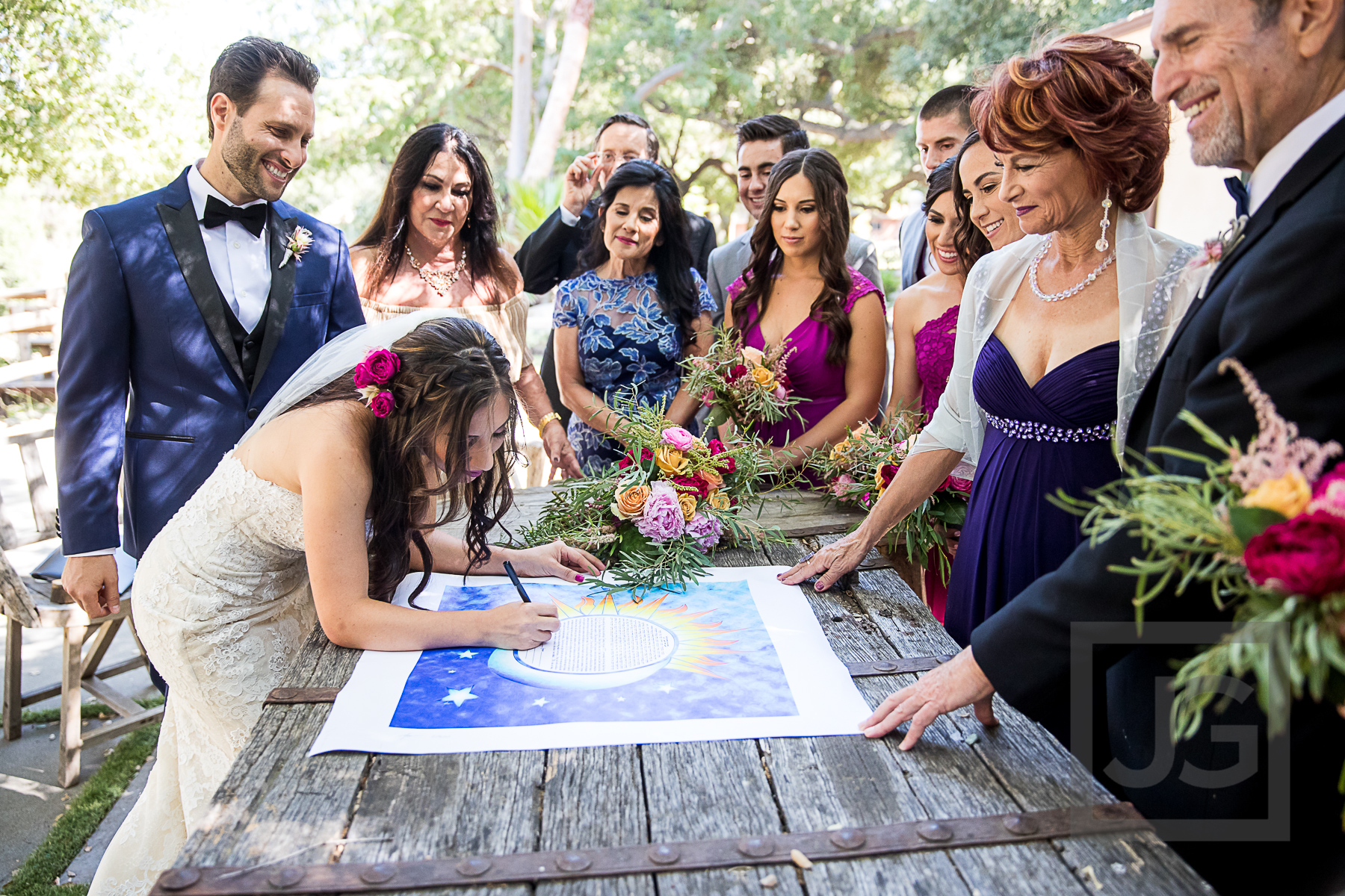 Oak Canyon Ranch Ketubah Signing