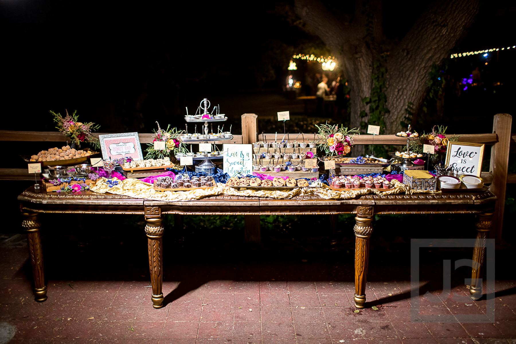 Oak Canyon Ranch Reception Dessert Bar