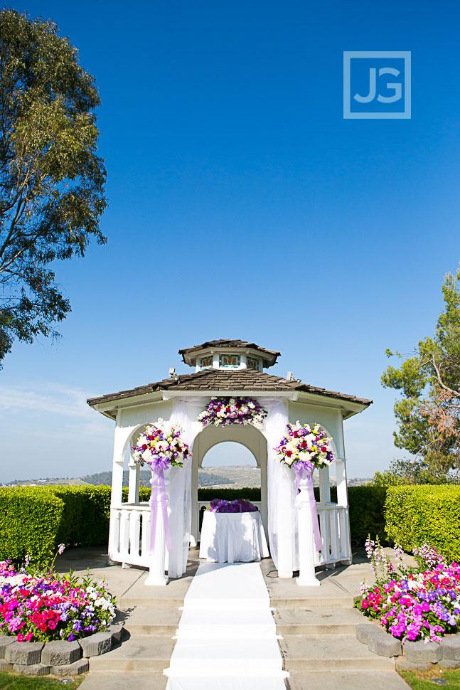 Wedding Ceremony Gazebo at Pacific Palms