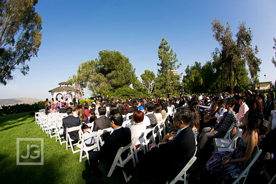 Pacific Palms Wedding Ceremony