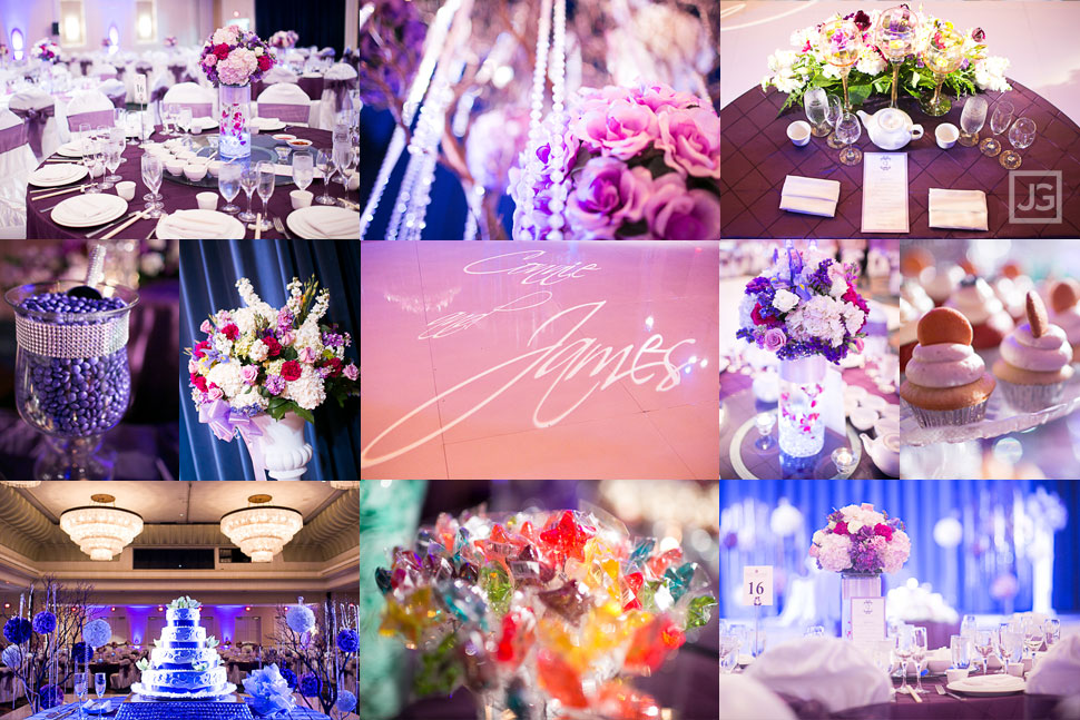 Pacific Palms Wedding Reception