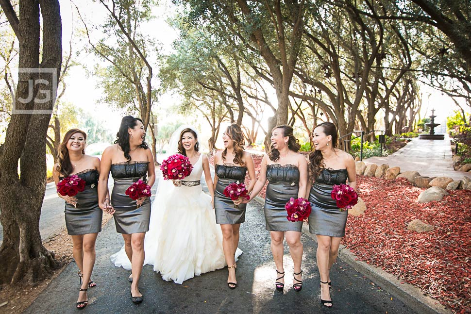 Bridesmaids at Padua Hill