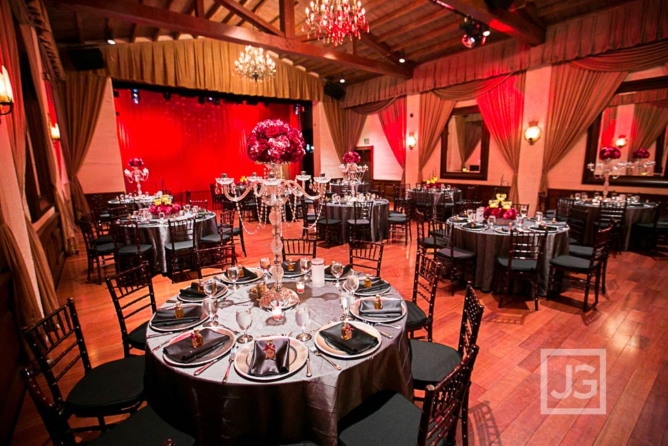 Padua Hills Theatre Wedding Reception