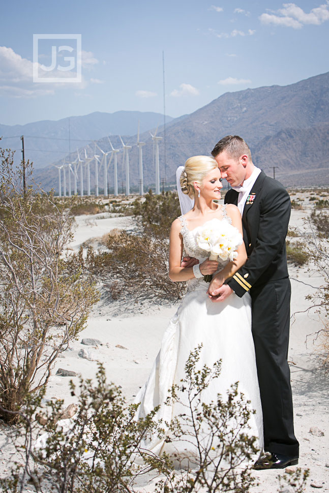 Palm Springs Wedding Photos in the Desert