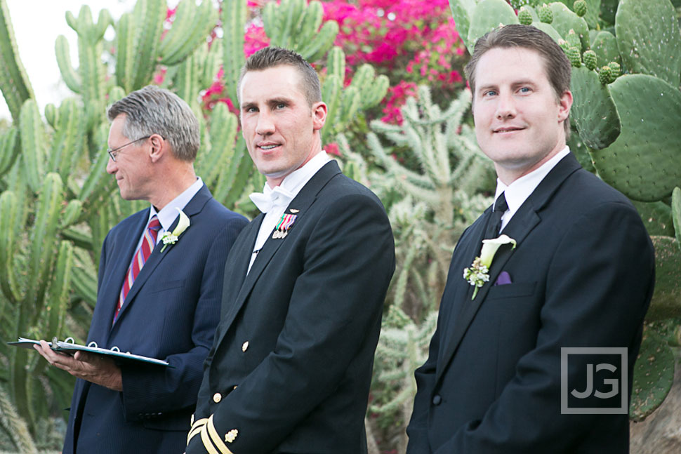 Spencer's Restaurant Palm Springs Wedding Ceremony
