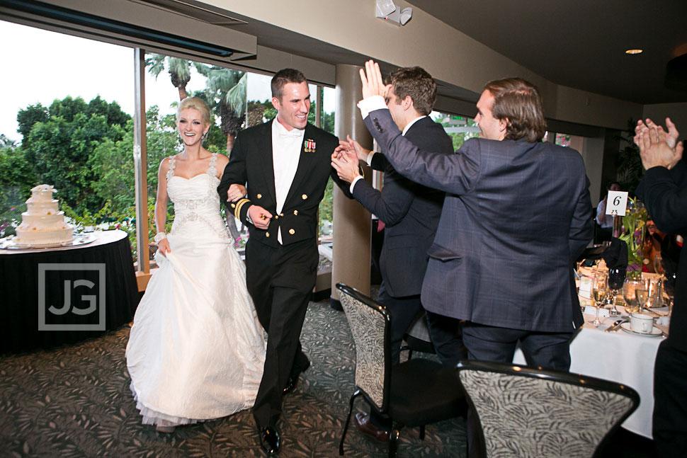Spencer's Restaurant Palm Springs Wedding Reception Grand Entrance