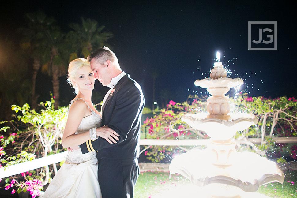 Night Wedding Photos at Spencer's Restaurant
