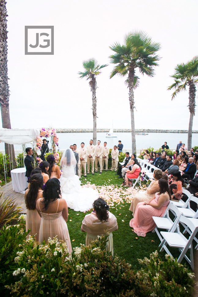 Portofino Hotel Wedding Ceremony