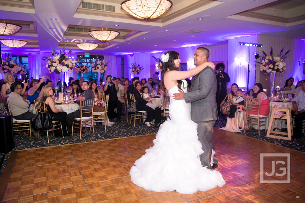 Portofino Hotel Wedding Reception First Dance