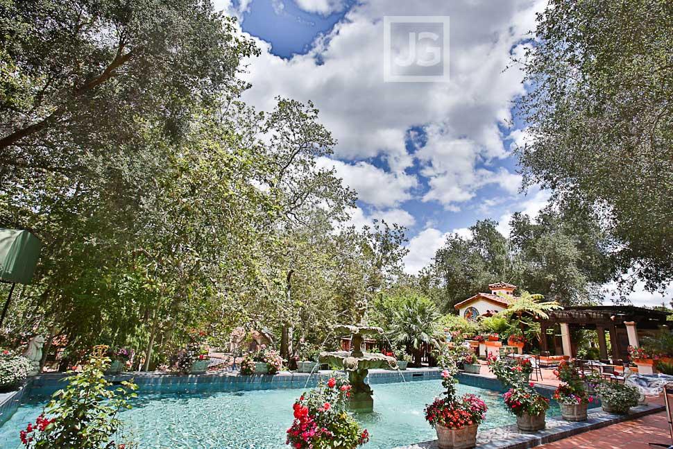 Rancho Las Lomas pool