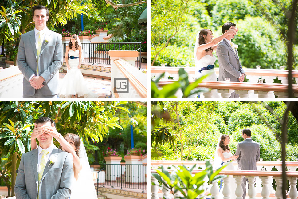 Rancho Las Lomas Wedding First Look